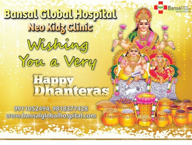 Bansal Global Hospital Happy Dhanteras