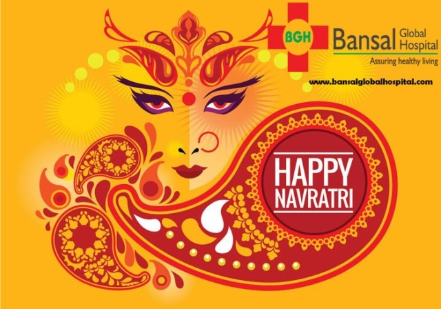 Bansal Global Hospital Happy Navratri