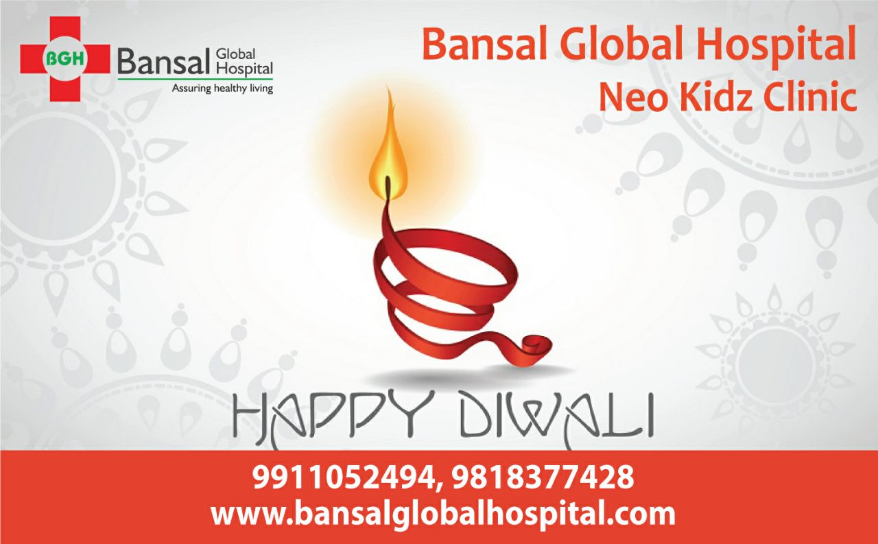 Bansal Global Hospital Neo Kidz Clinic Happy Diwali
