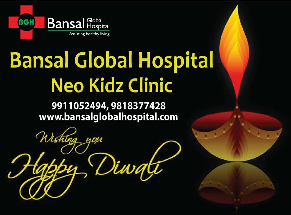 Bansal Hospital Happy Diwali