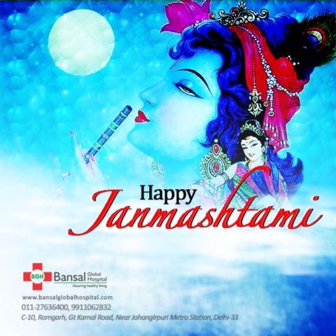 Bansal Global Hospital Happy Janmshtami