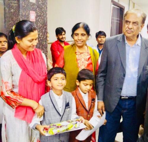 Children's Day celebration at Bansal Global Hospital in Azadpur