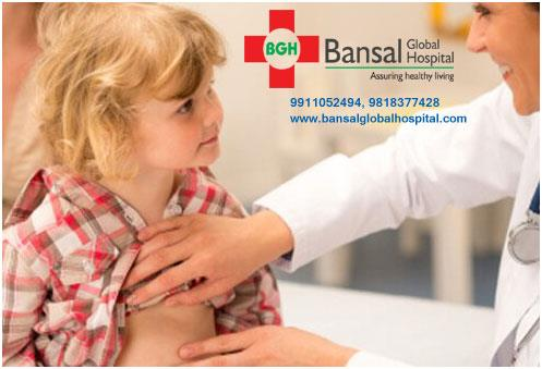 Child Complains Stomach Pain