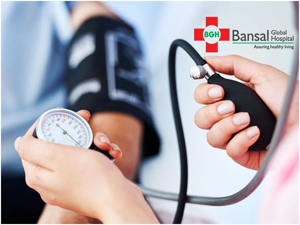 blood pressure Bansal Global Hospital