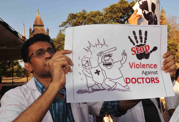 voilence against doctors