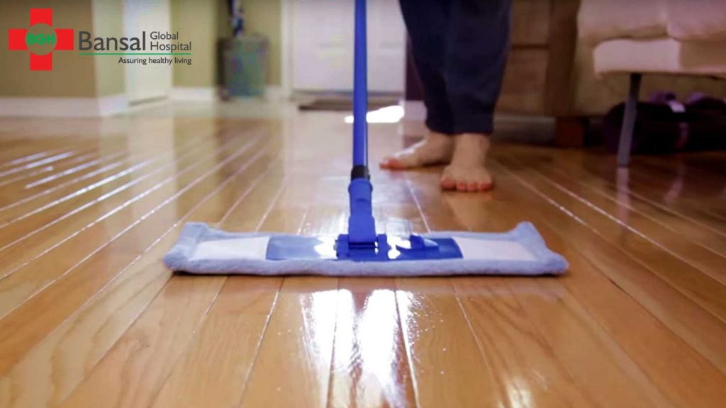 Clean-Floors Home Hygiene Tips to keep your Child safe from Infections