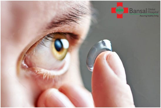 wear contact lenses